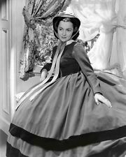 OLIVIA DE HAVILLAND GONE WITH WIND 8X10 GLOSSY PHOTO