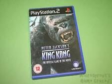Peter Jackson's King Kong Official Game of the Movie Sony PlayStation 2 PS2 Game