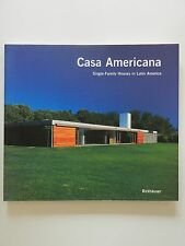 Casa Americana Single Family Houses in Latin America Birkhäuser Englisch