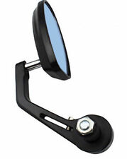 "Motorcycle 7/8"" Bar End Grip Rearview Mirror Kawasaki Yamaha Honda Suzuki KTM"