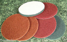 "6pc 5"" inch Hook and Loop SURFACE CONDITIONING SANDING / CLEANING DISCS Big Disc"