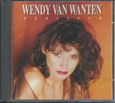 WENDY VAN WANTEN - Verliefd CD Album 13TR Belgium 1991