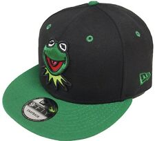NEW Era Kermit Black Green Snapback Cap 9 FIFTY Limited Edition 950 Muppets Mens