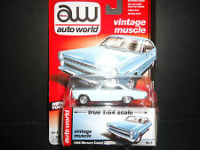 Auto World Mercury Comet Caliente 1966 Blue 1/64 Detail Car