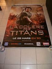 AFFICHE CINEMA ROULEE - LA COLERE DES TITANS - PREVENTIVE - 120x160