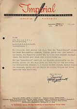 """LEIPZIG und PARDUBITZ, Brief 1941, """"Imperial""""-Füllhalter-Fabrik Gerlach & Bezner"""