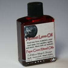 Attract Love Oil Anoint Candles Use Spells Wicca Voodoo Full Moon Love Magick