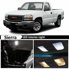18x White LED Lights Interior Package Kit 2000-2006 Chevy Sierra + TOOL
