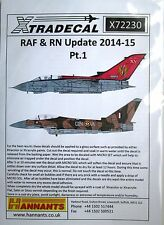Xtradecal 1/72 X72230 RAF + RN update 2014-15 Decals