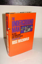 The Underground Man by Ross Macdonald 1st/1st 1971 Knopf Hardcover