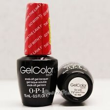 OPI GelColor Hawaii Collection GC H69 GO WITH THE LAVA FLOW 15mL Gel Golden Red