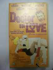 DOCTOR IN LOVE [1960] VHS – Classic Comedy – Leslie Phillips – BARGAIN!