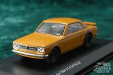 [KYOSHO ORIGINAL 1/64] NISSAN SKYLINE GT-R KPGC10 (Orange)