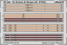 Eduard 1/35 Tie Downs & Straps US STEEL # 36348