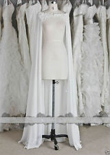Chiffon Wraps Wedding Jacket Bridal Cloak Lace Bridal Dress's Cape