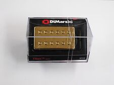 DiMarzio Regular Spaced Titan Neck Model Humbucker W/Gold Cover DP 258