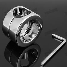 Stainless Steel Ball Weights Stretcher Chastity testicle stretcher Bondage 620g