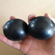 Black Ball Soft Squeeze Foam Ball Hand Wrist Exercise Stress Relief Toy
