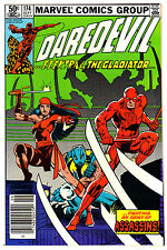 DAREDEVIL #174 9.4 OFF-WHITE/WHITE PAGES BRONZE AGE FRANK MILLER