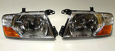 Mitsubishi Pajero Montero MK III 2000-2006 front head lamps lights  ONE SET