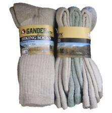 6 pairs Womens Gander Mountain MTN Merino Wool Boot Hiking Socks Smart 9-11