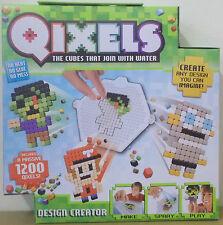 Qixels ~ Design Creator Playset ~ Build A Pixel World ~ Includes 1200 Cubes