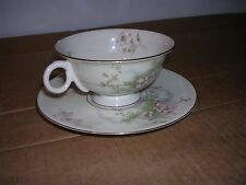 Theodore Haviland Apple Blossom tea cup and saucer