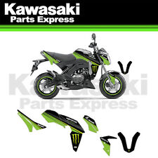 NEW KAWASAKI Z-125 Z125 PRO MONSTER ENERGY COMPLETE GRAPHICS KIT BY D'COR