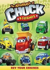 The Adventures Of Chuck And Friends: Rev Your Engines, Widescreen, NTSC, Color,