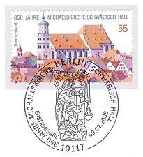 BRD 2006: Michaelskirche Schwäbisch Hall Nr. 2522 mit Berliner Sonderstempel! 1A