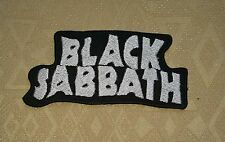 Black Sabbath Rock Music Band Master of Reality Iron-On Embroidered Patch/ Logo