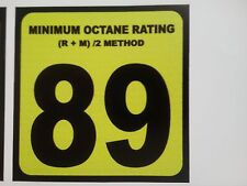 89 Gasoline Sticker Decal