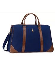 RALPH LAUREN Polo NAVY PARFUME  DUFFE BAG TRAVEL GYM OVERNIGHT WEEKENDER .NWT