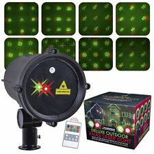 Christmas Workshop Deluxe Outdoor Xmas Laser With 8 Rotating Patterns Festive