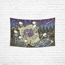 Vintage Grateful Dead Rock Cotton Linen Hanging Wall Tapestry 40(H) x 60(W)