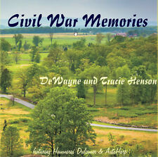Civil War Memories DeWayne & Tracie Henson Hammered Dulcimer & Autoharp CD - NEW