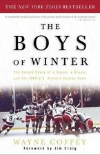 The Boys of Winter: The Untold Story of a Coach, a Dream, and the 1980-ExLibrary