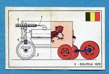 STORIA DELL'AUTOMOBILE Panini -Figurina-Sticker n. 2 - EOLIPILA 1679 -Rec