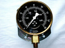 Vintage DURAY NOSHOK Germany Incased in Water Air Pressure Meter