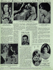 News of Motion Picture Pictures and Their Stars of 1928- Garbo,Griffith,Lessing,