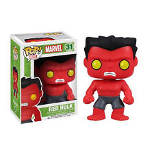 FUNKO POP Marvel RED HULK #31 RETIRED Vinyl Figure Sealed Box Kid Toy Xmas Gift#