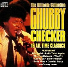 CHUBBY CHECKER The Ultimate Collection CD Album K-Tel ECD 3045 1994