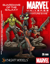 Knight Models BNIB Marvel Guardians Of The Galaxy Starter Set 35MV100