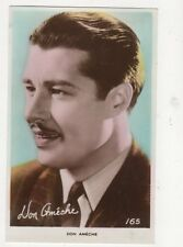 Don Ameche Actor Vintage RP Postcard 486a