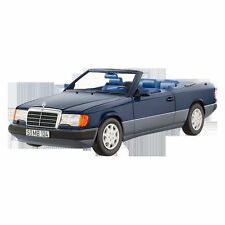 1:18 MERCEDES-BENZ 300 CE-24 Convertible - Nautical Blue NOREV MODEL CAR DIECAST