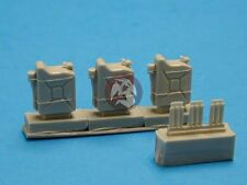 Tank Workshop 1/35 German Gas Cans / Jerrycans w/Grenade Attached (3 pcs) 353111