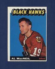 1965-66 Topps AL MACNEIL #57 NRMT CHICAGO BLACKHAWKS !!