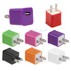 1A US Plug USB Travel AC Power Wall Charger Adapter For iPhone 5 5S Samsung HTC