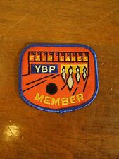 Fair Lanes Embroidered Sew On Bowling Patch YBP Member Bowling Ball and Pins