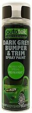 6 X Plastic Primer Paint 500ML Aerosol Spray Grey paint BUMPER - TRIM free